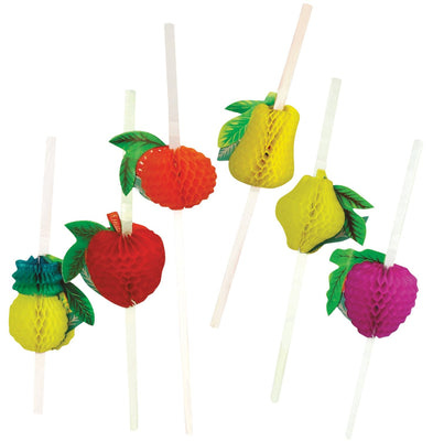 Honeycomb Fruit Straws