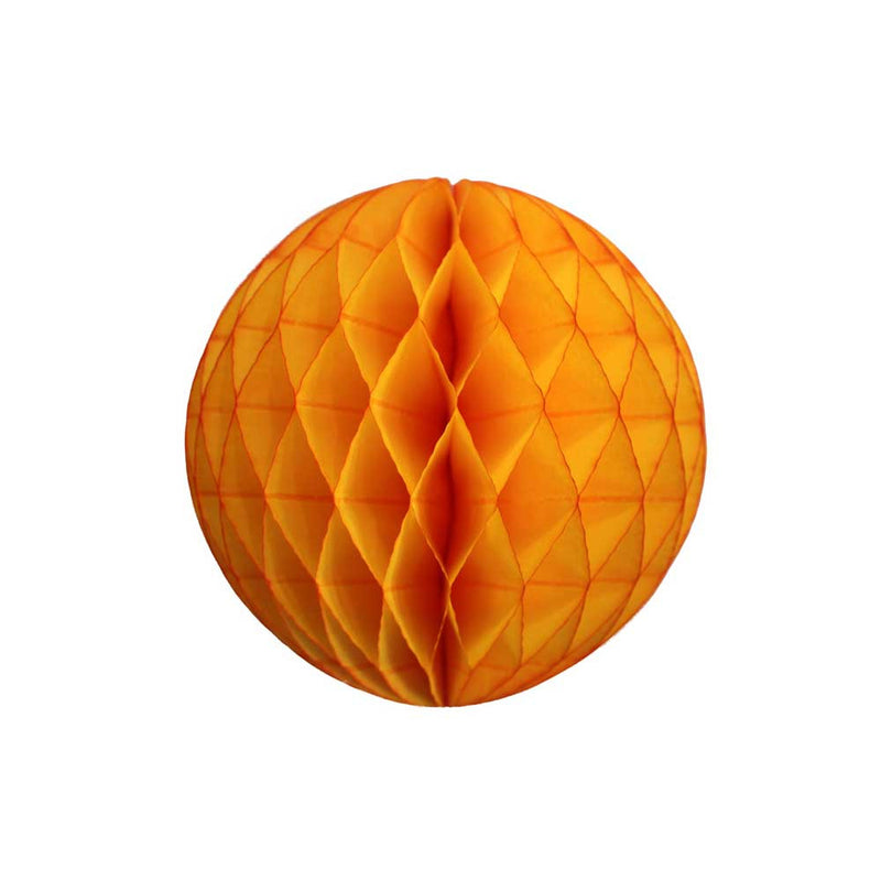 Golden Yellow Honeycomb Ball - 5""