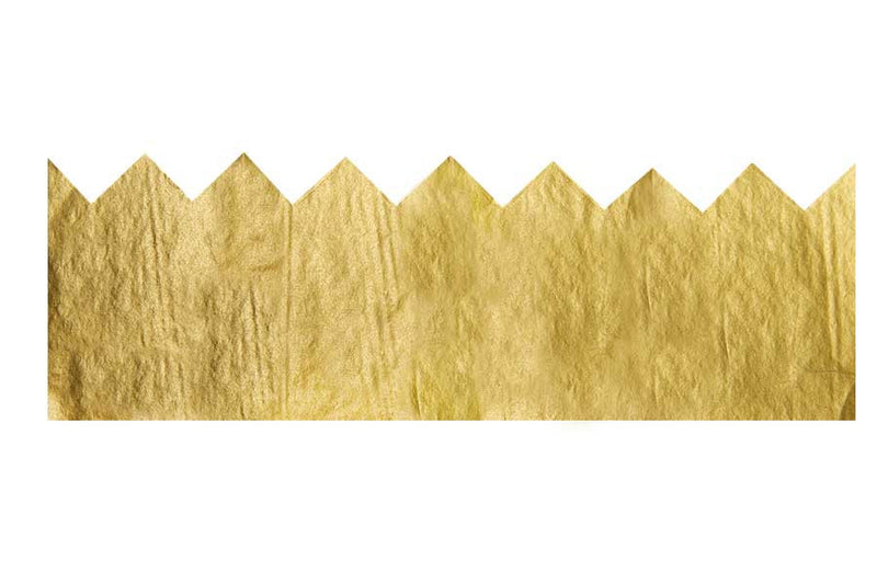 SALE: Gold Tissue Paper Crowns