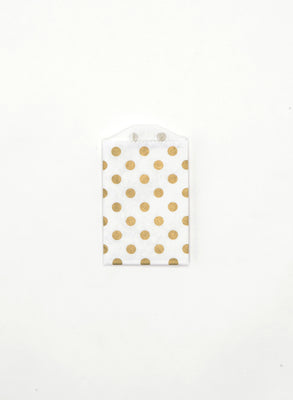 Gold Dot Favor Bags - Small