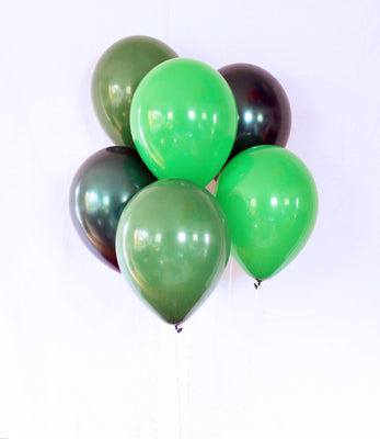 Green Latex Balloon Set - 11""