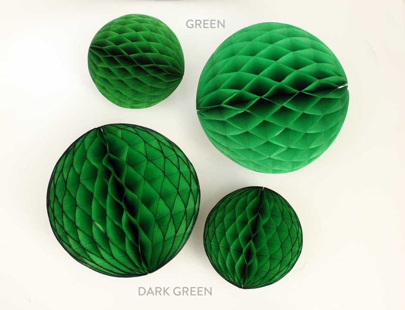 Green Honeycomb Ball - 5""
