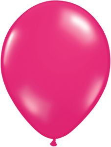 Jewel Magenta Latex Balloons - 11""