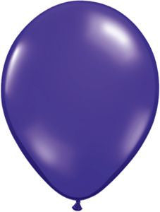 Jewel Purple Latex Balloons - 11""