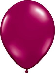Jewel Burgundy Latex Balloons - 11""