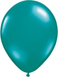 Jewel Teal Latex Balloons - 11""