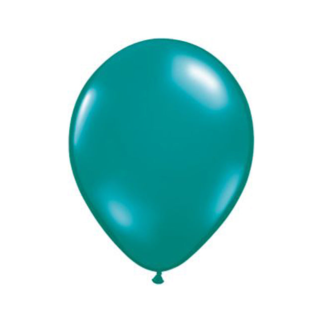Teal Latex Balloon Set - 11""