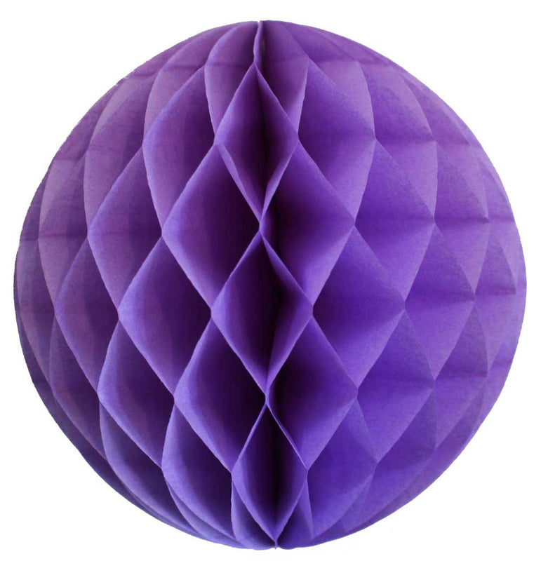 Lavender Honeycomb Ball - 12""
