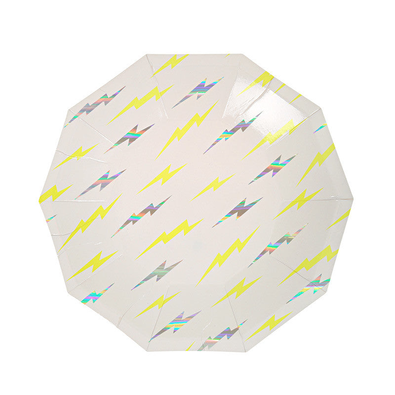 Lightning Bolt Plates - Small