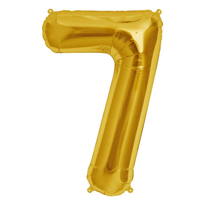 Giant Number 7 Balloon