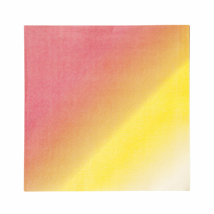 SALE: Pink, Orange, and Yellow Ombre Napkins