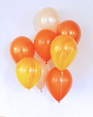 Orange Latex Balloon Set - 11""