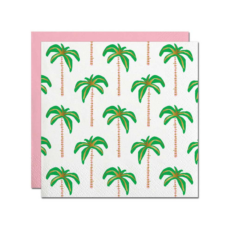 Palm Tree Napkins - Small