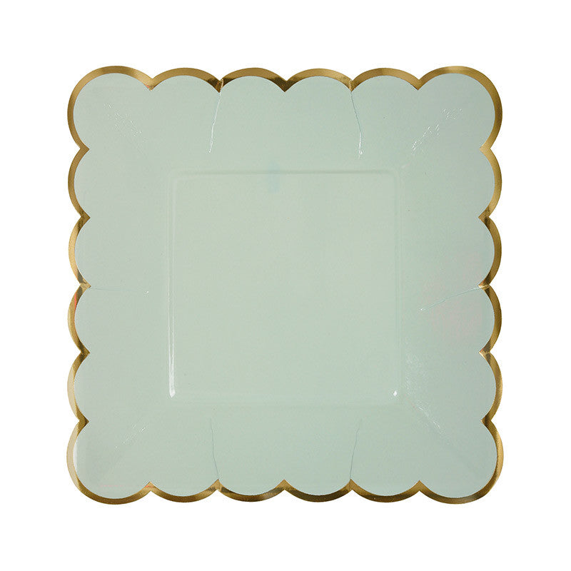 Pastel and Gold Plates - Small