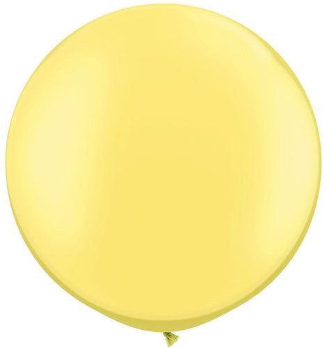 Pearlescent Yellow Jumbo Latex Balloon - 30""