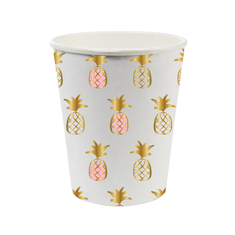 Pineapple Paper Cups