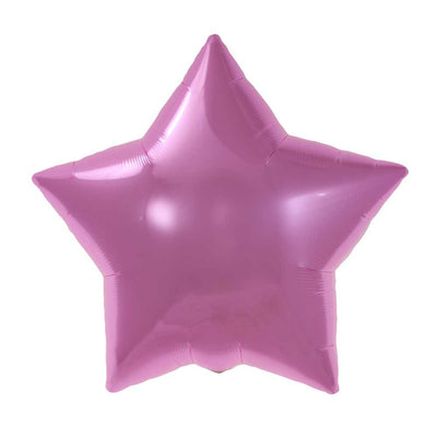 Pink Star Balloon - Mylar