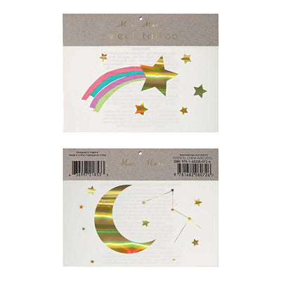 Rainbow, Star, and Constellation Temporary Tattoos