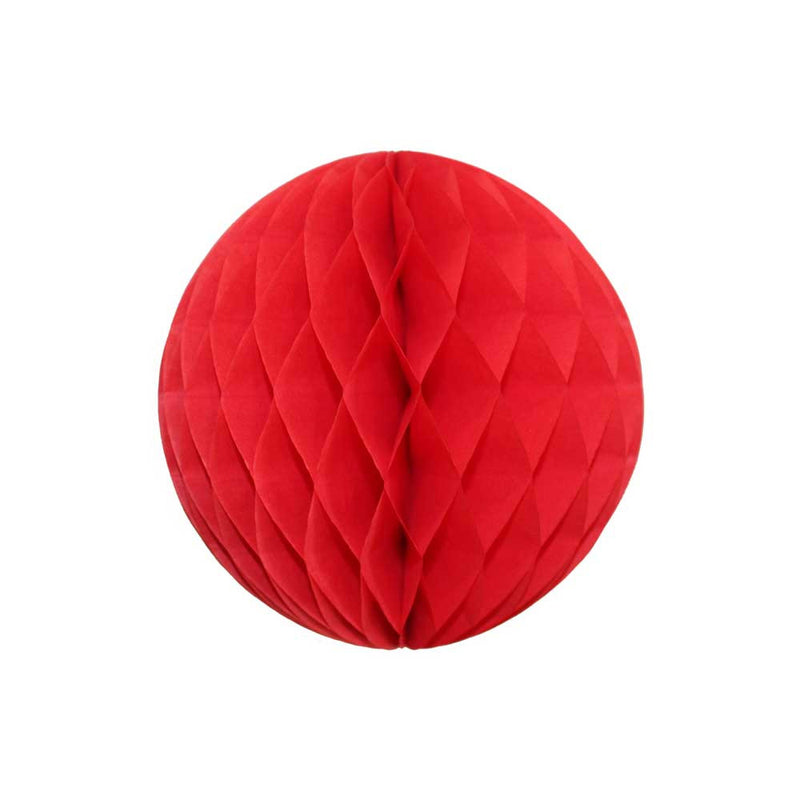 Red Honeycomb Ball - 5""