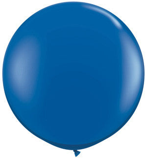 Jewel Sapphire Blue Jumbo Latex Balloon - 36""