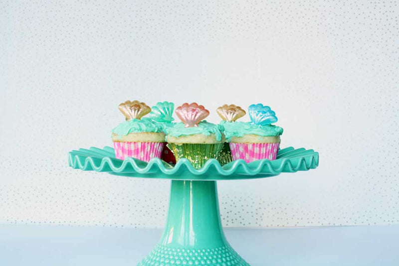 Seashell Ring Party Favors or Cupcake Toppers