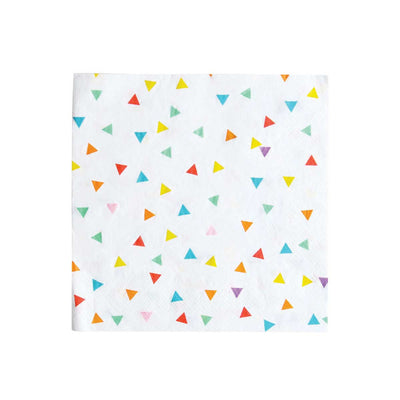 Bright Triangle Napkins