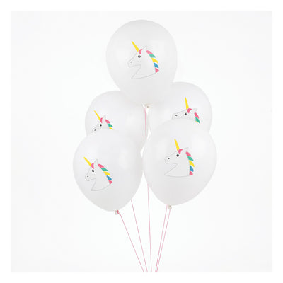 Unicorn Print Latex Balloons - 11""