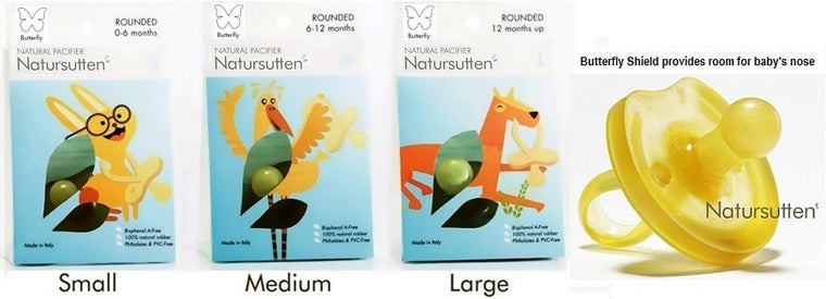 Natursutten Natural Pacifier Rounded