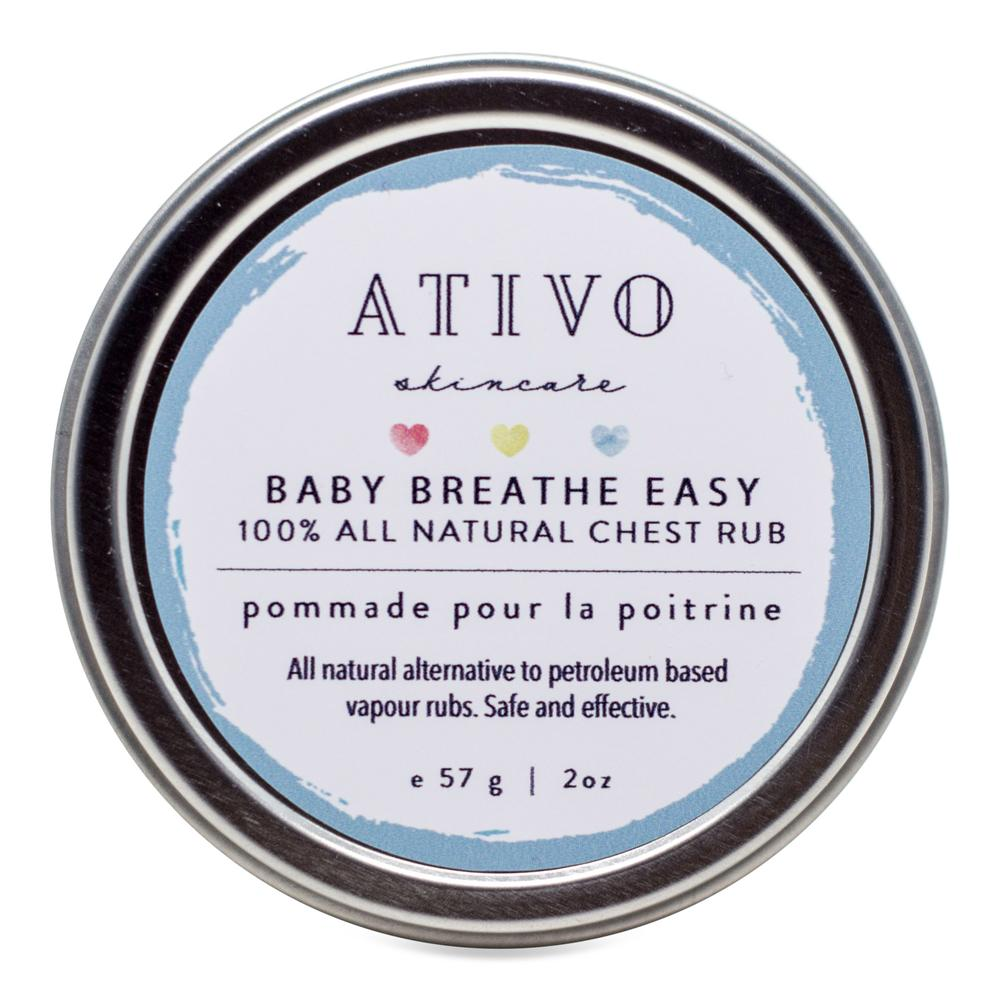 Ativo Baby Breathe Easy Chest Rub