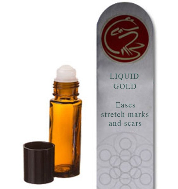 Healing Hollow Liquid Gold