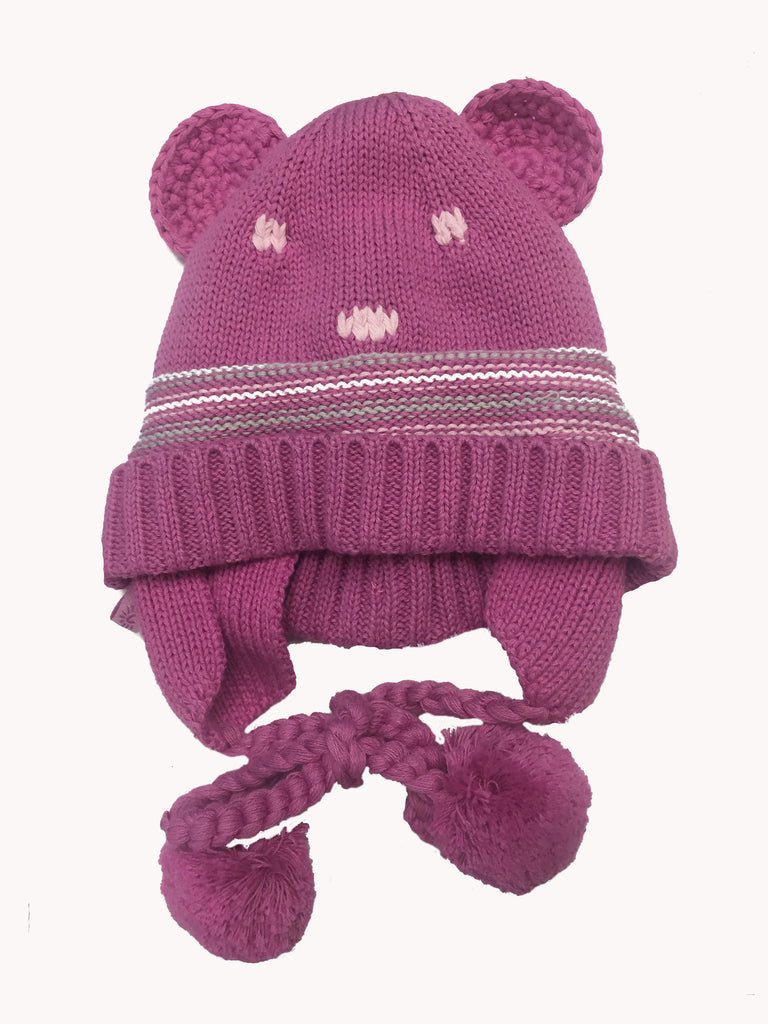 Calikids Knit Bear Hat S17