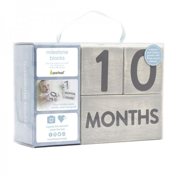 Wooden Baby Age Blocks