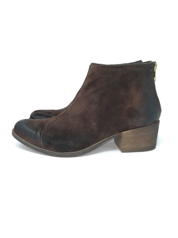 CHIARA BROWN SUEDE - Salvatore Caputo Shoes