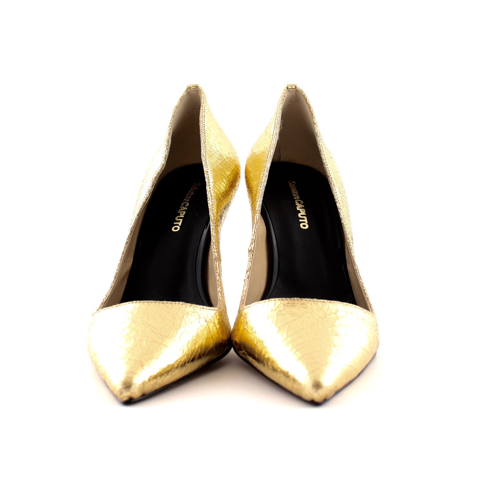FABIA laminato oro - Salvatore Caputo Shoes