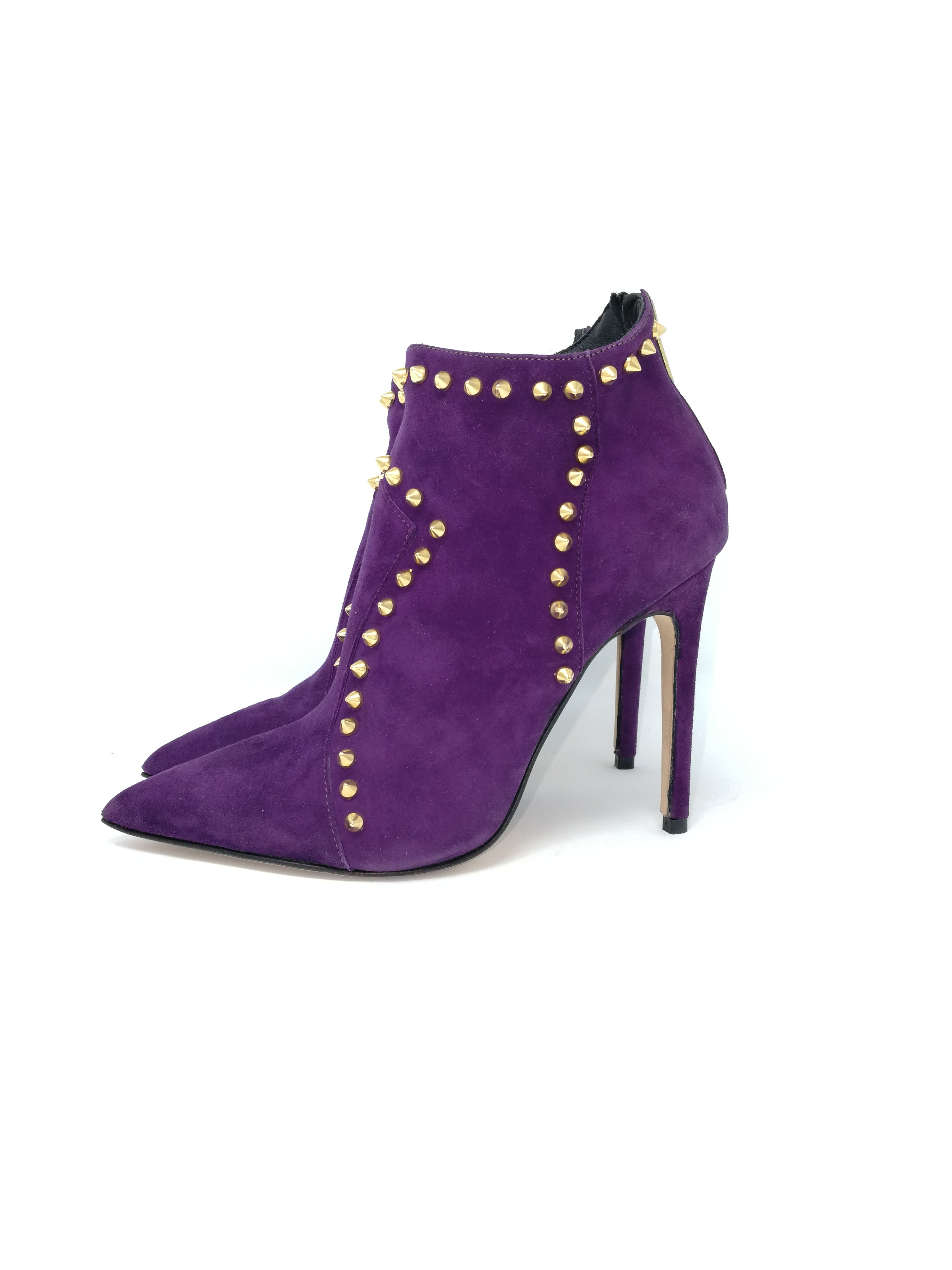ida violet suede - Salvatore Caputo Shoes