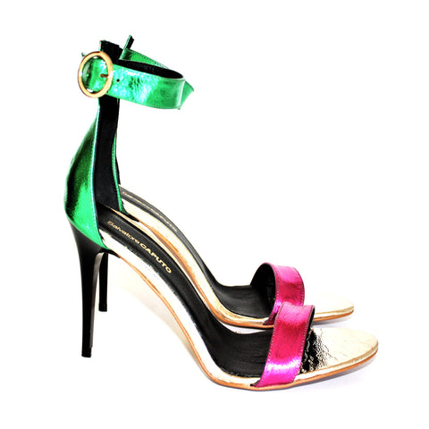 MISS erba platino fuxia - Salvatore Caputo Shoes