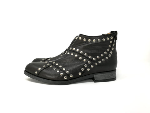 Bruna 2 Black Suede
