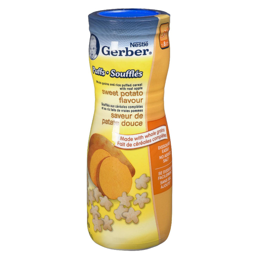 NESTLE GERBER CEREAL PUFFS SWEET POTATO 42 G