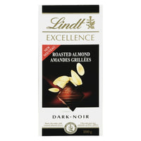 LINDT EXCELLENCE AMANDES RÔTIES 100 G
