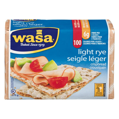 WASA CROUSTIPAIN SEIGLE LÉGER 270 G
