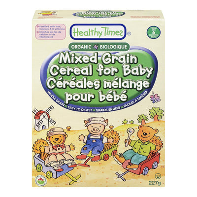 HEALTHY TIMES CEREAL MIXED GRAIN BABY ORGANIC 227 G
