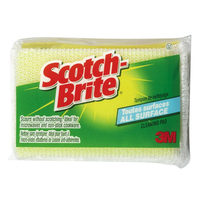 SCOTCH BRIGHT TAMPON À  RÉCURER 1 UN