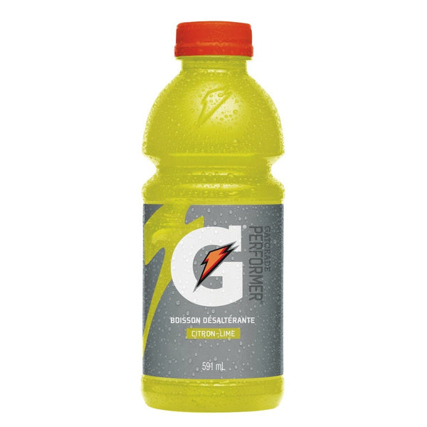GATORADE CITRON-LIME 591 ML