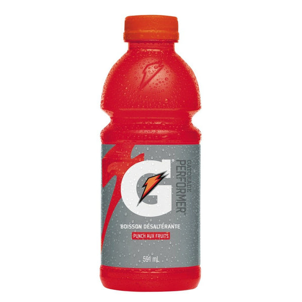 GATORADE PUNCH FRUIT 591 ML