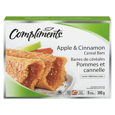 COMPLIMENTS FRUITS BARS APPLE 300 G
