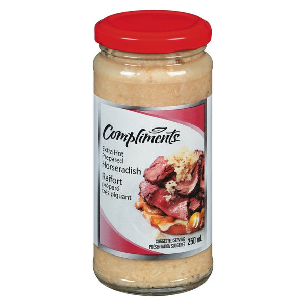COMPLIMENTS SAUCE RAIFORT EXTRA FORTE  250 ML