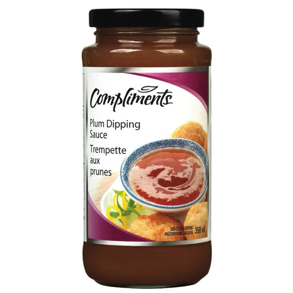 COMPLIMENTS SAUCE PRUNES 350 ML
