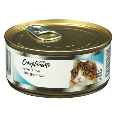 COMPLIMENTS NOURRITURE CHAT DINER GOURMET 156 G