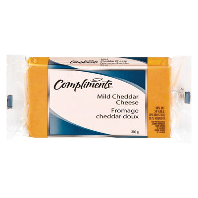 COMPLIMENTS FROMAGE CHEDDAR DOUX COLORE 300 G