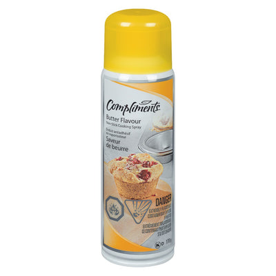 COMPLIMENTS BUTTER FLAVOUR COOKING SPRAY 170 G